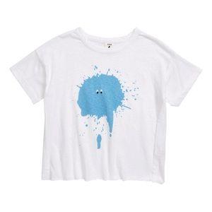 Stem blue splat Social T-Shirt NEW W/TAGS